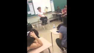 Kid beat boxes while teacher reads Dr. Seuss! (Not Original)