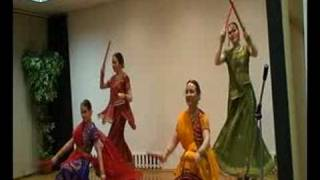 Dandia Folk Dance of Gujrat By Tarang Moscow