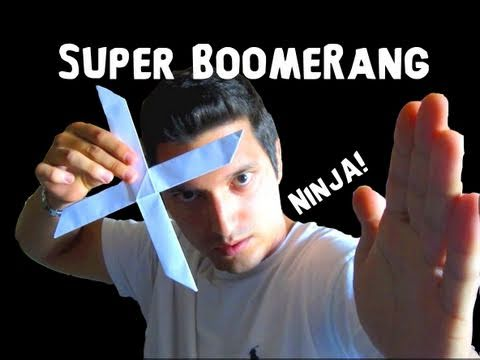 How to Make the Super Boomerang Rob s World