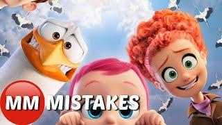10 STORKS Movie MISTAKES You Missed | Storks Movie