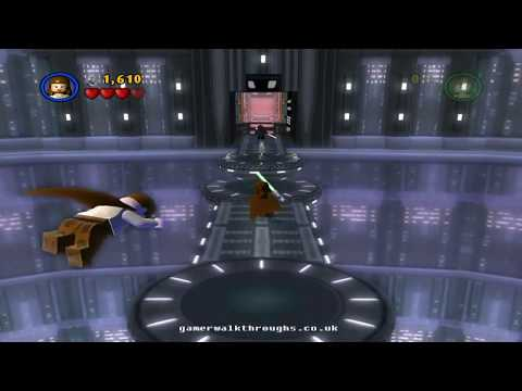 Lego Star Wars walkthrough Darth Maul