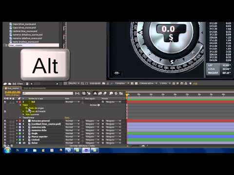 After Effects CS6. Animación con expresiones a partir de ímágenes estáticas