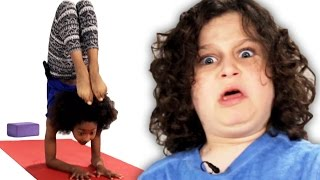 Kids Try Yoga