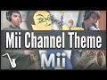 Nintendo Wii - Mii Channel Theme - Jazz Cover || insaneintherainmusic (feat. Gabe N. & Chris A.)