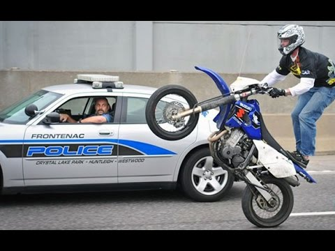 Motorcycle Stunters VS. Cops Compilation FNF