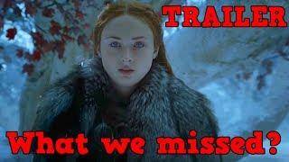 Game of Thrones Season 7 Trailer | Dragon Glass Axe, Arya at the Dragon Pit, Gold dragon riders etc