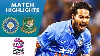 ICC #WT20 India vs Bangladesh - Match Highlights