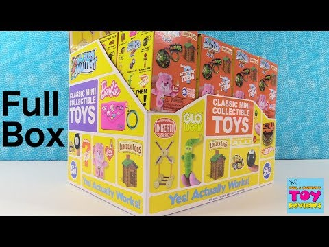 Worlds Smallest Series 2 Full Case Blind Box Toy Opening Review