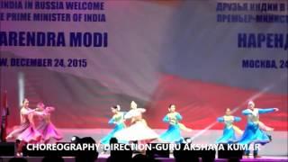 AKSHAYA KATHAK - TARANA-PM MODI VISIT SHOW RUSSIA