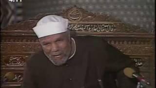 من هو الصوفى ؟  الشيخ الشعراوى
