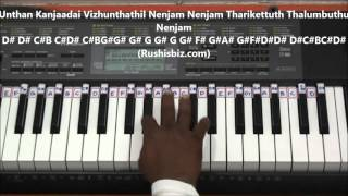 Kannalane Enathu Kannai Piano Tutorials - Bombay (Tamil)
