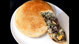 Ouzi Rice (Parda Pulao)made with Homemade Dough Arabic Dish (Eid Special)
