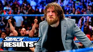 DANIEL BRYAN RETURNS TO ACTION! WWE Smackdown Live Review & Results 3/20/18 (Going in Raw Podcast)