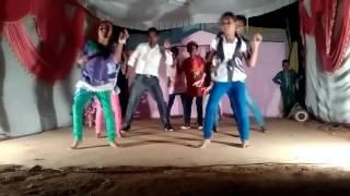 Adivasi song Peelo beer Nagpuri Adivasi Girl grup dance by triza group rourkela
