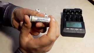 Аккумуляторы Camelion AlwaysReady 2100mAh Ni-MH AA тест емкости