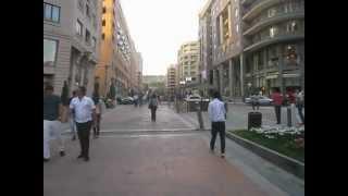 A Walk Down Northern Avenue in Yerevan, Armenia