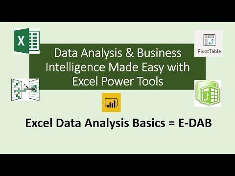 Xxx Mp4 E DAB 01 Excel Data Analysis BI Basics Class 01 What Is Data Analysis Business Intelligence 3gp Sex