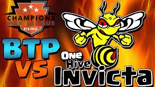 WAR!!  BTP vs ONEHIVE INVICTA LIVE STREAM CWL Rising Week 2 | Clash of Clans