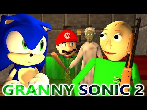 Xxx Mp4 GRANNY VS BALDI SONIC CHALLENGE 2 Ft MARIO Official Minecraft Horror Game Animation Video 3gp Sex