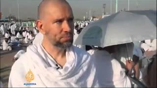 A Jewish Convert Crying during Hajj at Mount Al Rahma