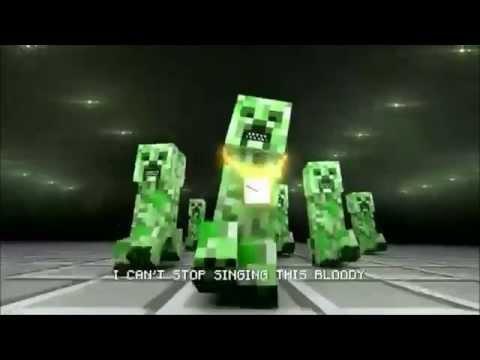 Minecraft Music Video I m a Creeper