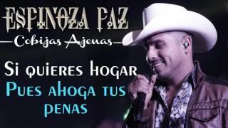 Espinoza Paz - Cobijas Ajenas (Video Lyrics)