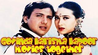 Govinda Karisma Kapoor Movies together  : Bollywood Films List 🎥 🎬