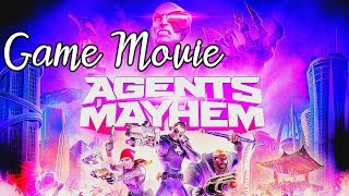 Agents of Mayhem - All Cutscenes The Movie [Game Movie]