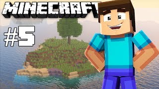 House building - Minecraft timelapse - Survival island III - Episode 5