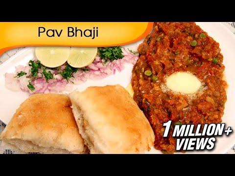 Pav Bhaji | Mumbai Street Food Recipe | Fast Food Recipe By Ruchi Bharani