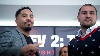 Sergey Kovalev vs Andre Ward NYC REMATCH PRESS CONFERENCE THOUGHTS