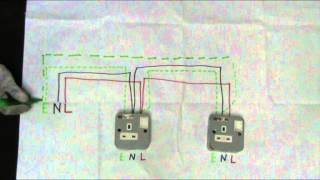 soket keluaran / outlet socket - sambungan gelang / ring circuit