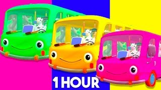 The Wheels on the BUS | Nursery Rhymes Songs Collection for Children & Toddlers