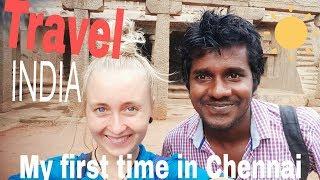 SOLO TRAVEL INDIA. TRAVELLING CHENNAI (episode 12)