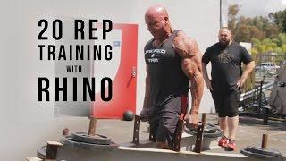 20 Rep Training with Rhino   JTSstrength.com