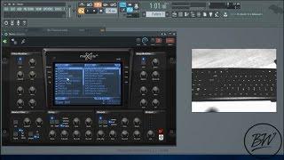 FL Studio 12 - Live Play on PC Keyboard 2016..!!