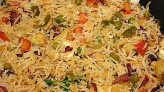 HOW TO MAKE VEG BIRYANI-RECIPE IN HINDI BY DOLLY KITCHEN