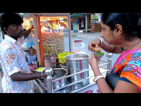 Xxx Mp4 Eating Fuchka Panipuri Golgappa Indian Street Food Kolkata Bengali Street Food India 3gp Sex