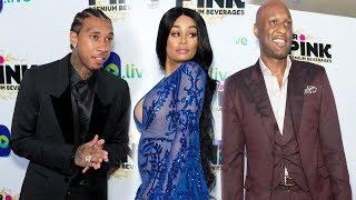 Blac Chyna, Tyga & Lamar Odom Celebrate Life After Kardashian Jenner Family
