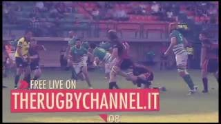 BENETTON RUGBY TREVISO-LEICESTER TIGERS AUG 19th, 2016