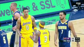 Isaiah Thomas Upset with Kyle Kuzma After Defensive Break Down! Lakers vs Nuggets