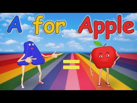 Xxx Mp4 A For Apple Nursery Rhymes Alphabet Song ABC Song For Children 3gp Sex