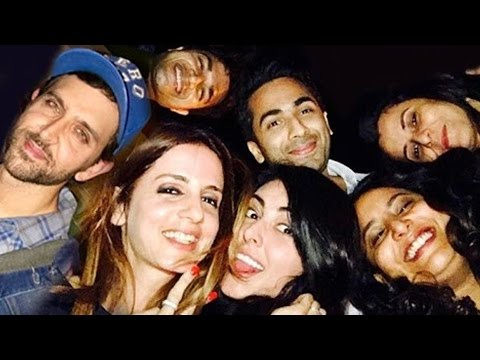 Hrithik's Sister Sunaina Roshan's Birthday Party 2017 |  Yami Gautam, Sussanne Roshan