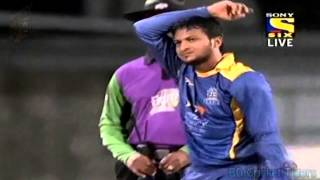 Shakib al Hasan 6 wickets vs Trinidad & Tobago Red Steel CPL T20 (HD)