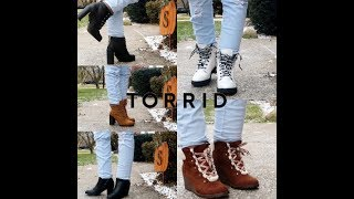 TORRID FALL/WINTER WIDE WIDTH BOOT AND BOOTIE HAUL/COLLECTION 2018