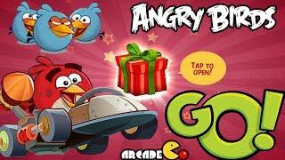 Angry Birds Go! - Multiplayer Mode - 5 Wins All Tracks