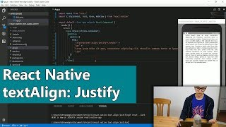 React Native Text Align Justify