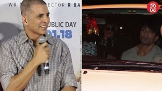 Akshay Kumar Urges To Make Sanitary Pads Completely Free | Bipasha - Karan Spotted Outside A Salon
