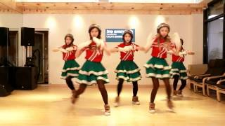 Crayon Pop 'Lonely Christmas' mirrored Dance Practice