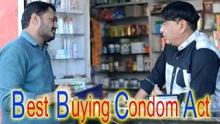 Trying to buy condom in India funny act - Youtube